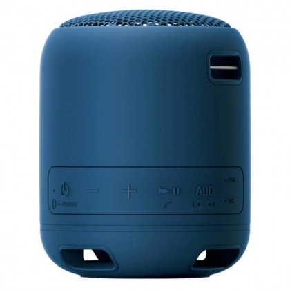 Sony SRS-XB12 EXTRA BASS Portable BLUETOOTH Speaker Blue Colour (Original) 1 Year Warranty By Sony Malaysia