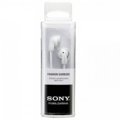 Sony MDR-E9LP White Stereo Earphone MDR-E9LP/W (Original) by Sony Malaysia
