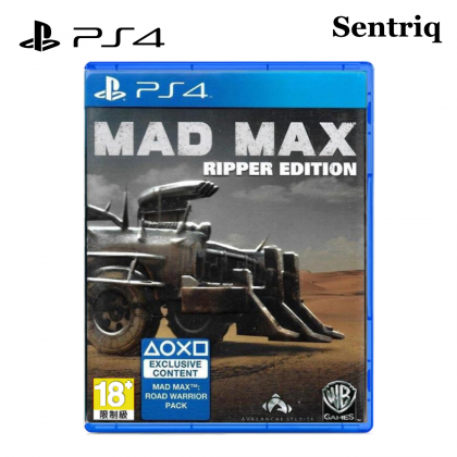Sony PS4 Game Mad Max Ripper Edition PlayStation 4 (Original)