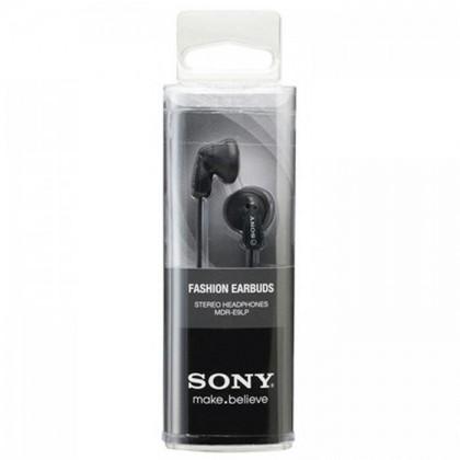 Sony MDR-E9LP Black Stereo Earphone MDR-E9LP/B (Original) by Sony Malaysia